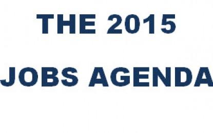 The 2015 Jobs Agenda