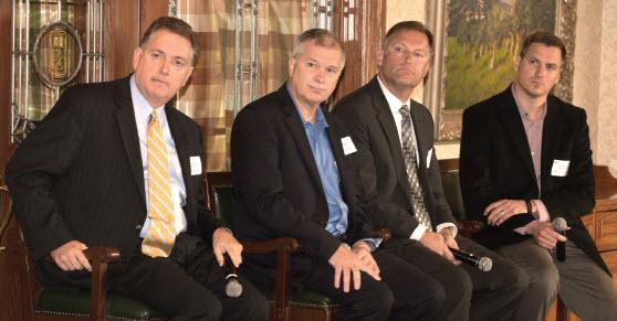 Tom Montgomery, Michael Gorton, David Omholt & Curtis Eggemeyer answer question on growth strategies.