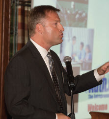 """Strategies for """"borrowing"""" through franchising are David Omholt's specialty at TEA"""