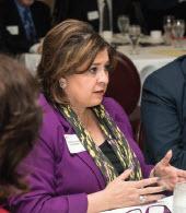 Senator Leticia Van de Putte is a pharmacist from San Antonio.