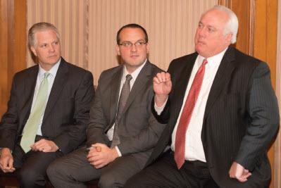 Cedric Burgher, Greg Matlock & Roger Burks