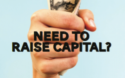 Need to Raise Capital?