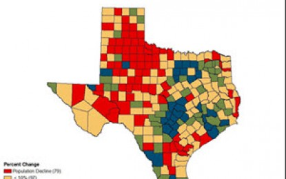 A More Slowly Growing But Diversifying America, And A Rapidly Growing And Diversifying Texas