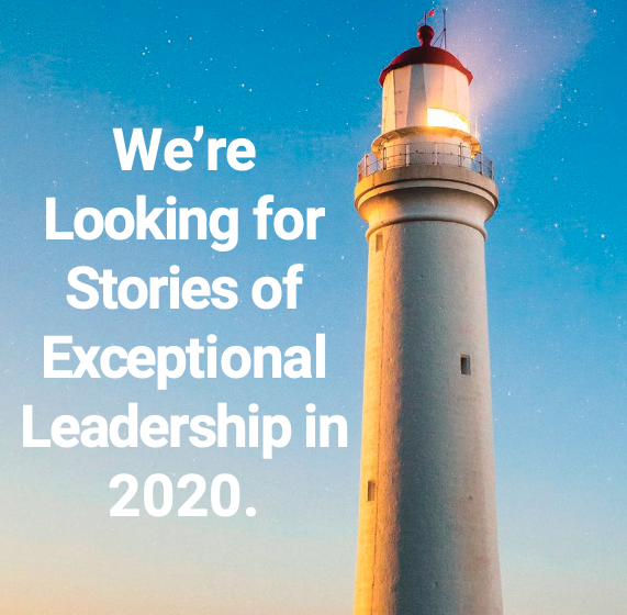 Nominate an Exceptional Leader.