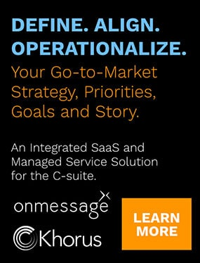 Define. Align. Operationalize. Your Go-to-Market Strategy. onmessage.
